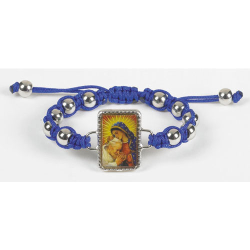 Guadalupe with St John Paul Rosary bracelet