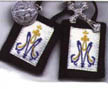 Children's Brown Wool Scapulars