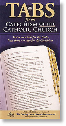 Catechism of the Catholic Church Tabs