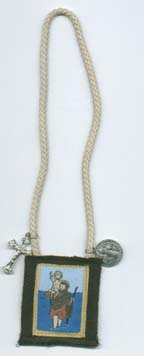 St. Christopher car scapular