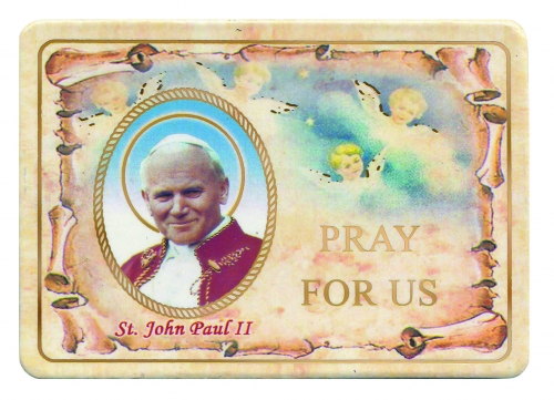 St. John Paul II Magnet - Limit one per order