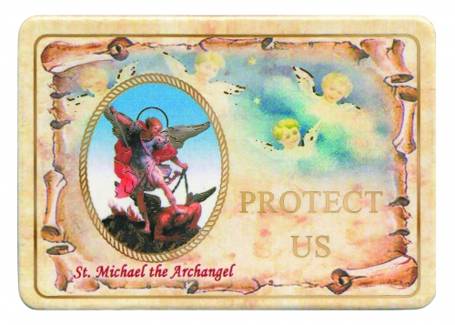 St. Michael the Archangel Magnet