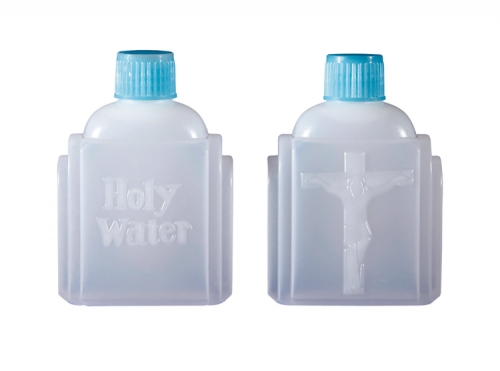 Crucifix Holy Water Bottle 12 pk