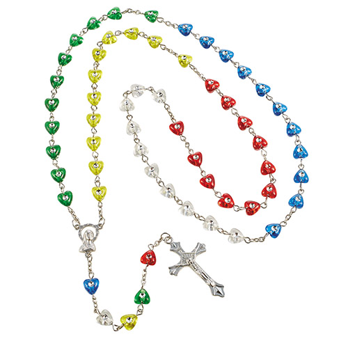 Heart Shaped Mission Rosary