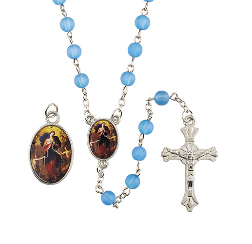 Our Lady Untier of Knots Rosary Set