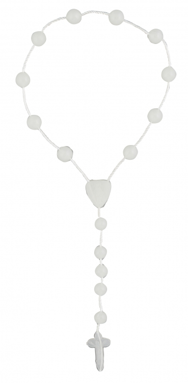 Luminous One Decade Cord Rosary