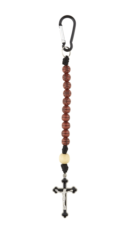Basketball One Decade Sport Rosary