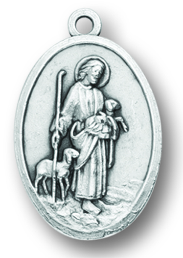Jesus Good Shepherd medal
