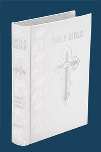 White Wedding Gift Bible