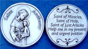 St. Anthony Pocket Coins