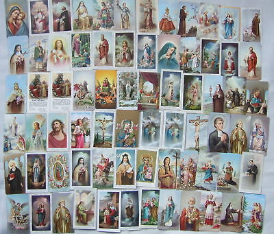 Laminated Patron Saint Holy Card Monthly Subscription