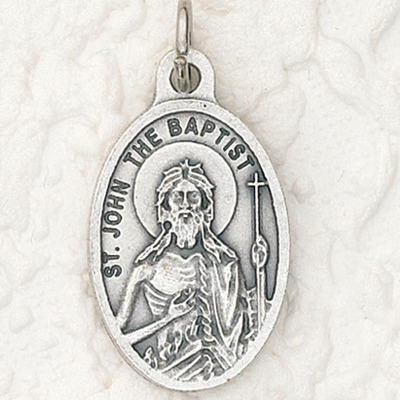 ST. John the Baptist medal