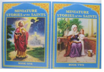 Minature Stories of the Saints - 76 biographies in 4 volumes!