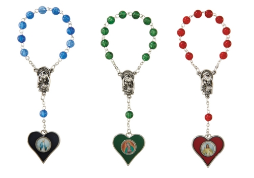 12 pack Divine Mercy 1 Decade Rosaries