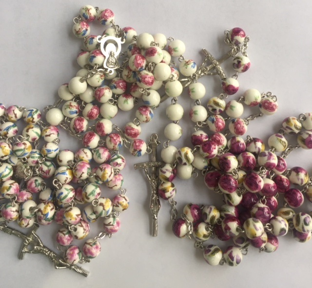 Ceramic one of a kind Rosaries