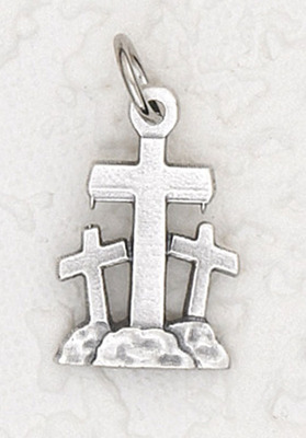 Three Crosses medal charm