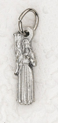 St. Joan of Arc medal charm