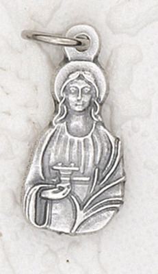 St. Lucy Medal charm