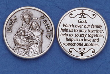 Holy Family Pocket coins