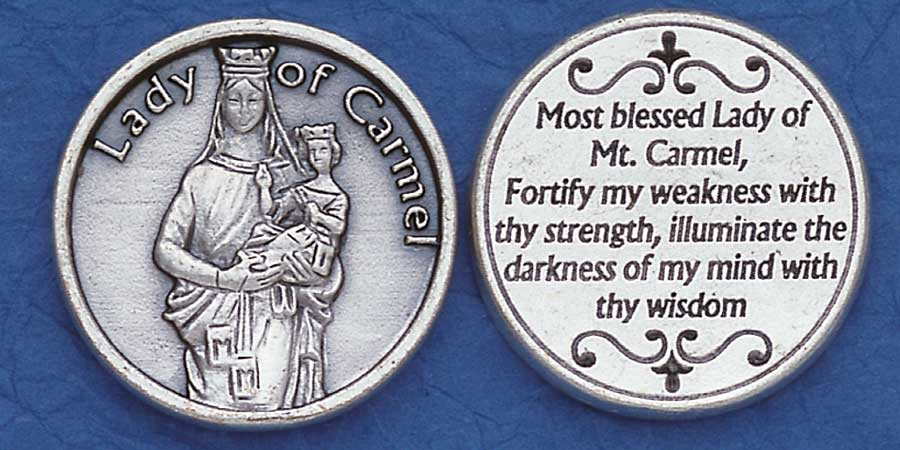 Our Lady of Mt. Carmel Pocket coins