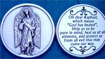 Pocket Coins, St. Raphael the Archangel