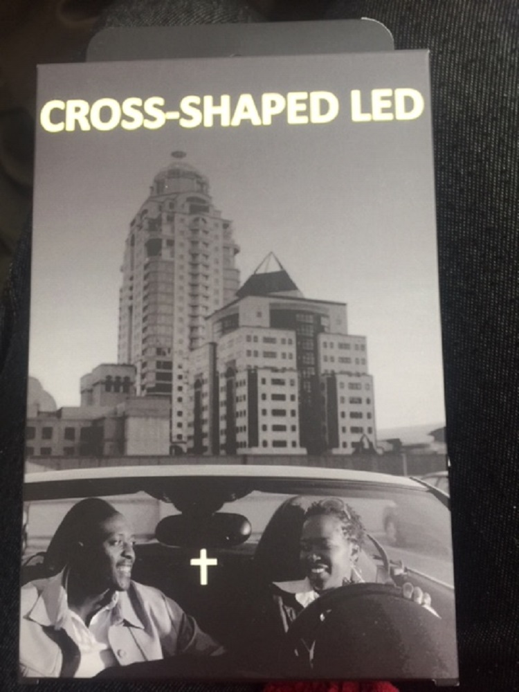 Cross Shaped LED light