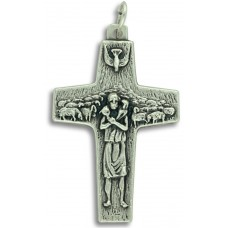 New Commemorative Pope Francis Crucifix on Flip Ring