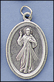 Divine Mercy relic medal