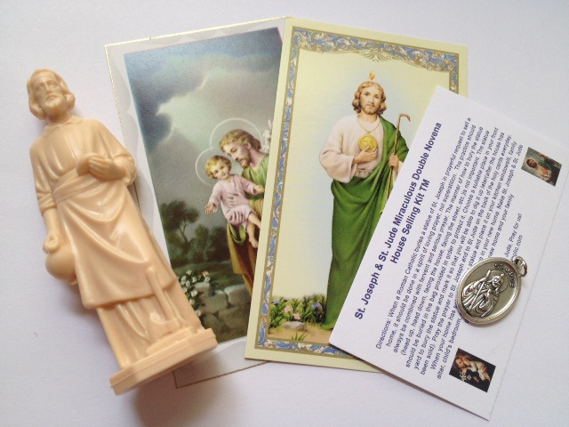 St. Joseph House Selling Kits, Double Novena version