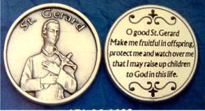 St. Gerard Pocket Tokens