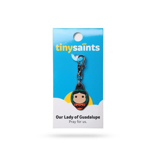 Our Lady of Guadalupe Tiny Saints Charms