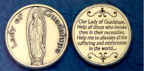 Guadalupe pocket coin