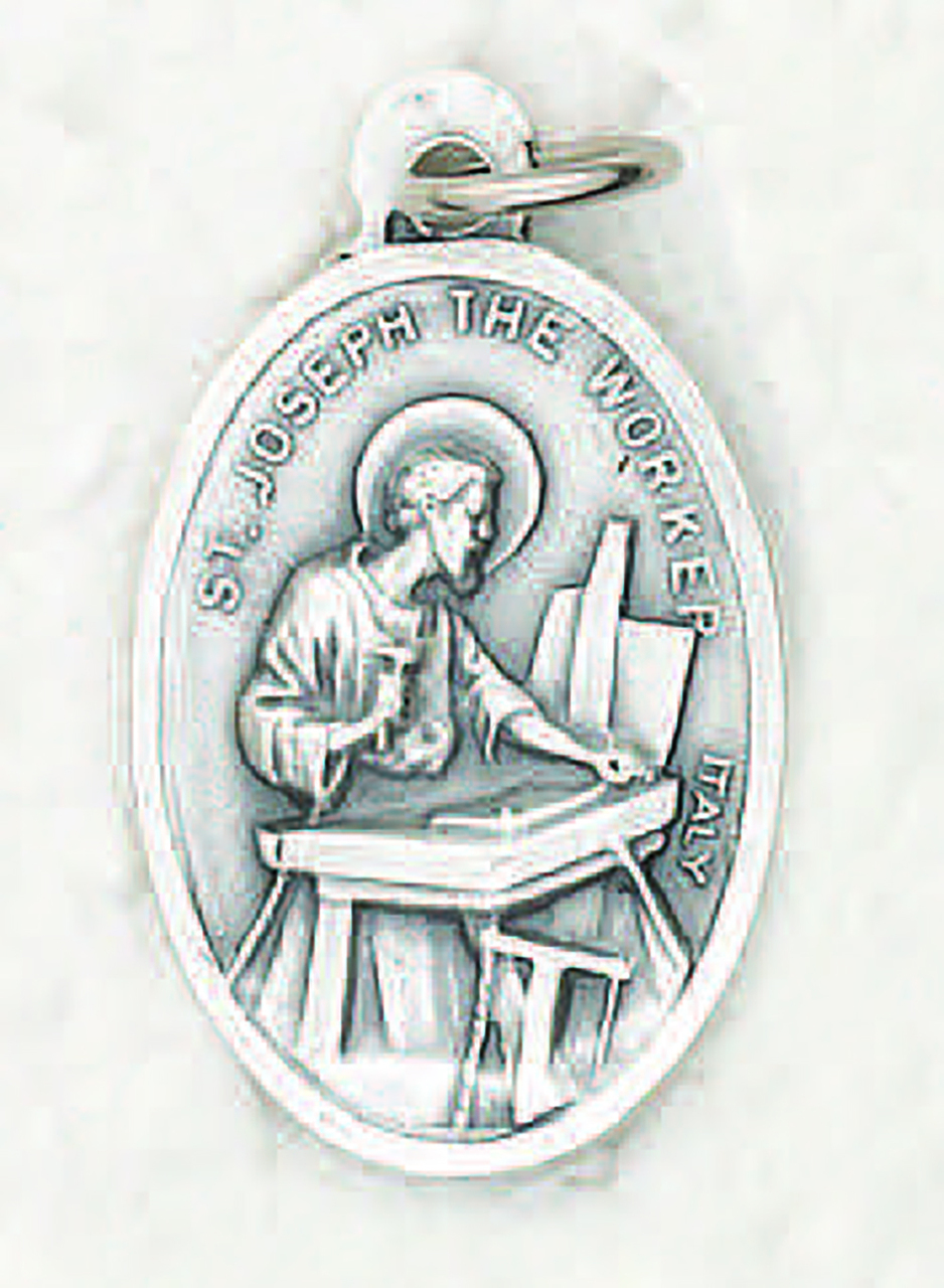 st medallion benedict shield exorcism protection catholic s patron medal item pendant p