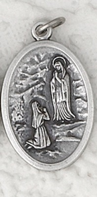 Our Lady of Lourdes Relic Medal