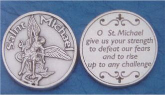 St. Michael pocket coin
