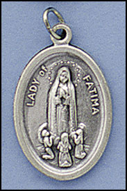 Relic medals - Our Lady of Fatima
