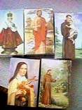 Paper Holy Cards, St. Therese