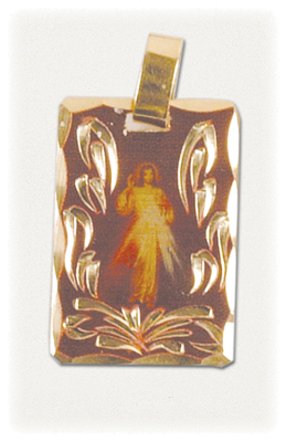 Gold medal of Divine Mercy