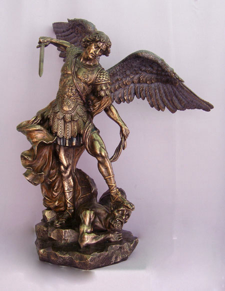 Very Large Imported Statue of St. Michael