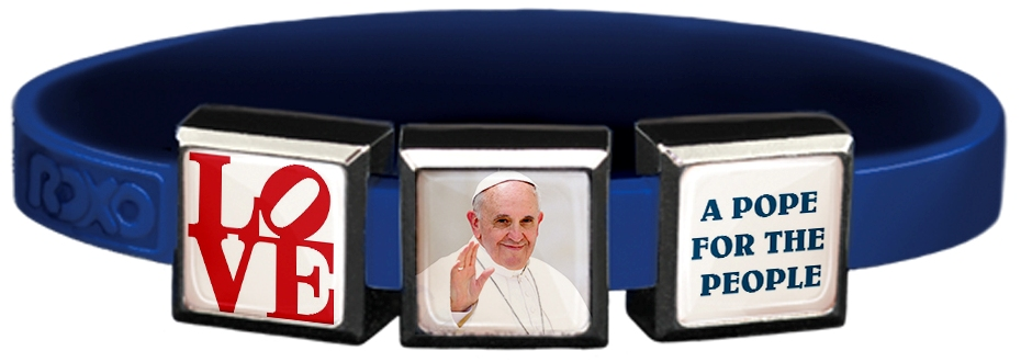 Pope for the People Charm Wristband