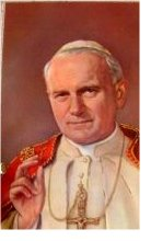 Pope John Paul II Special Edition Final Blessing card paper