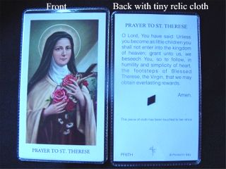 Relic Holy Card Series