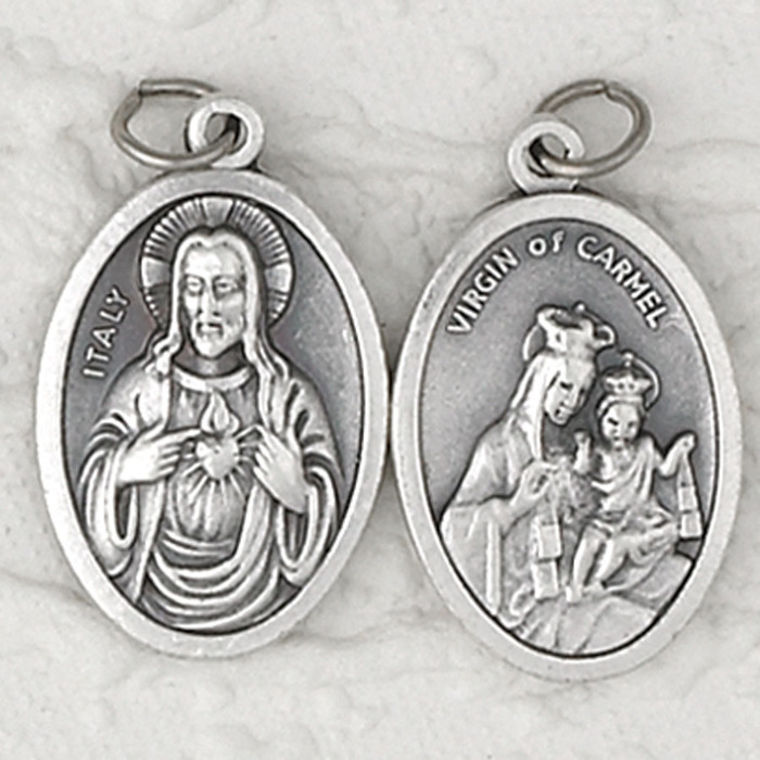 Sacred Heart, Immaculate Heart medal