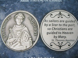 St. Thomas Aquinas pocket coins
