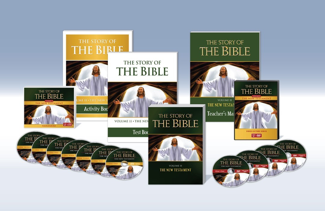 The Story of the Bible: Vol. II - The New Testament  Complete Set