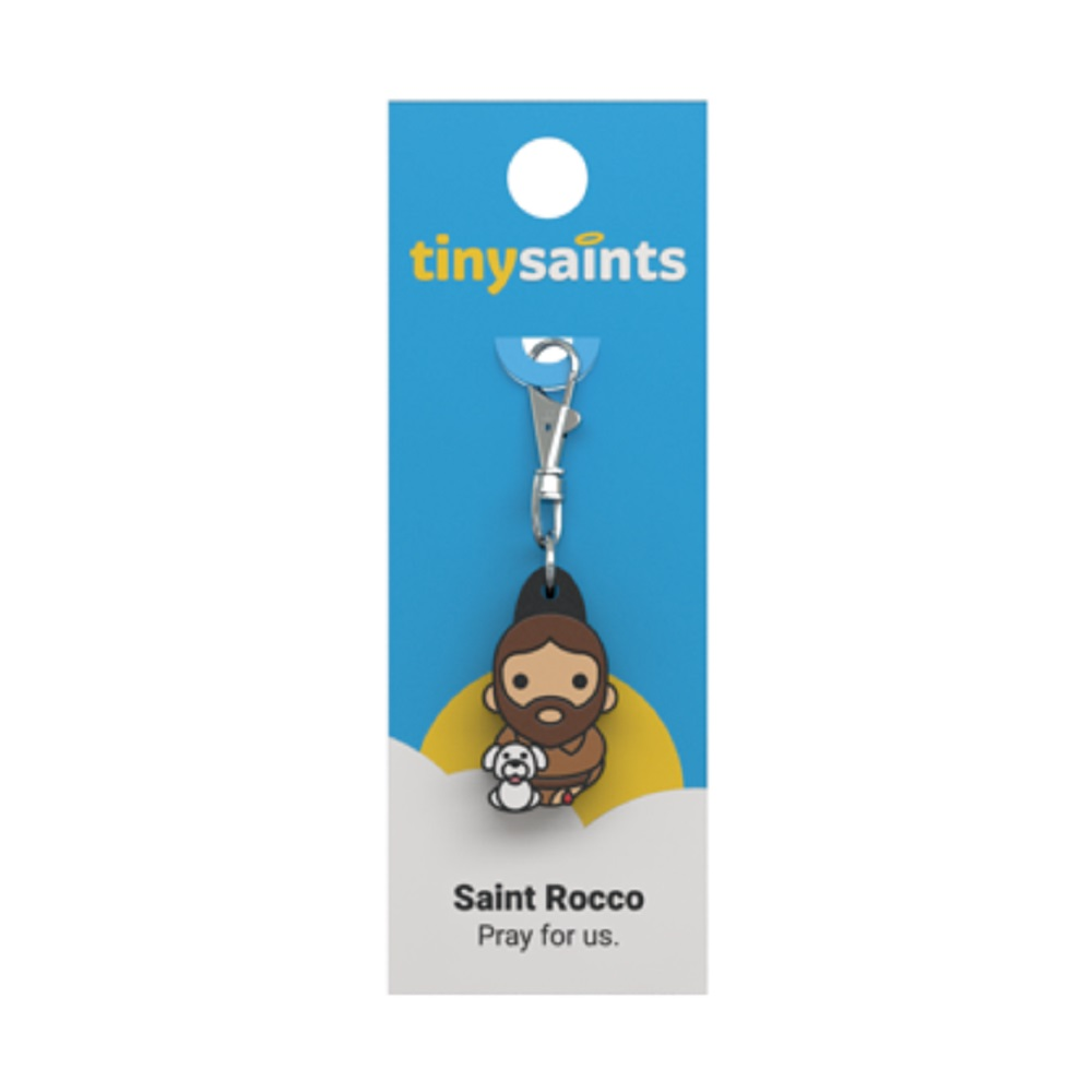 St. Rocco Tiny Saints charm