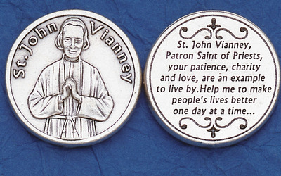 St. John Vianney Pocket coin