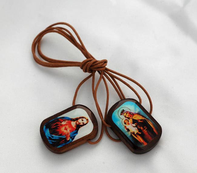 larger 24-hour wear ever wood scapular